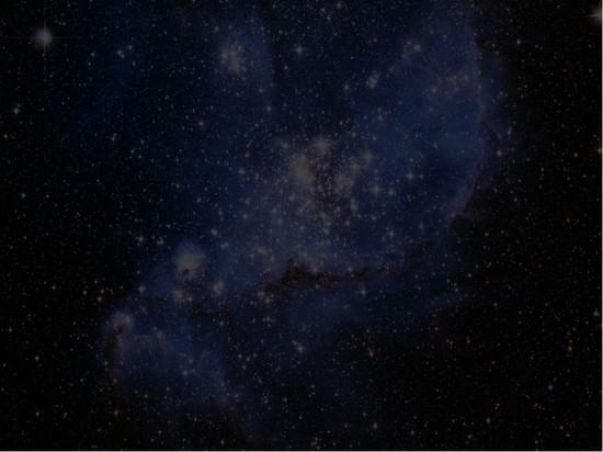 梦幻星空ppt模板模板免费下载