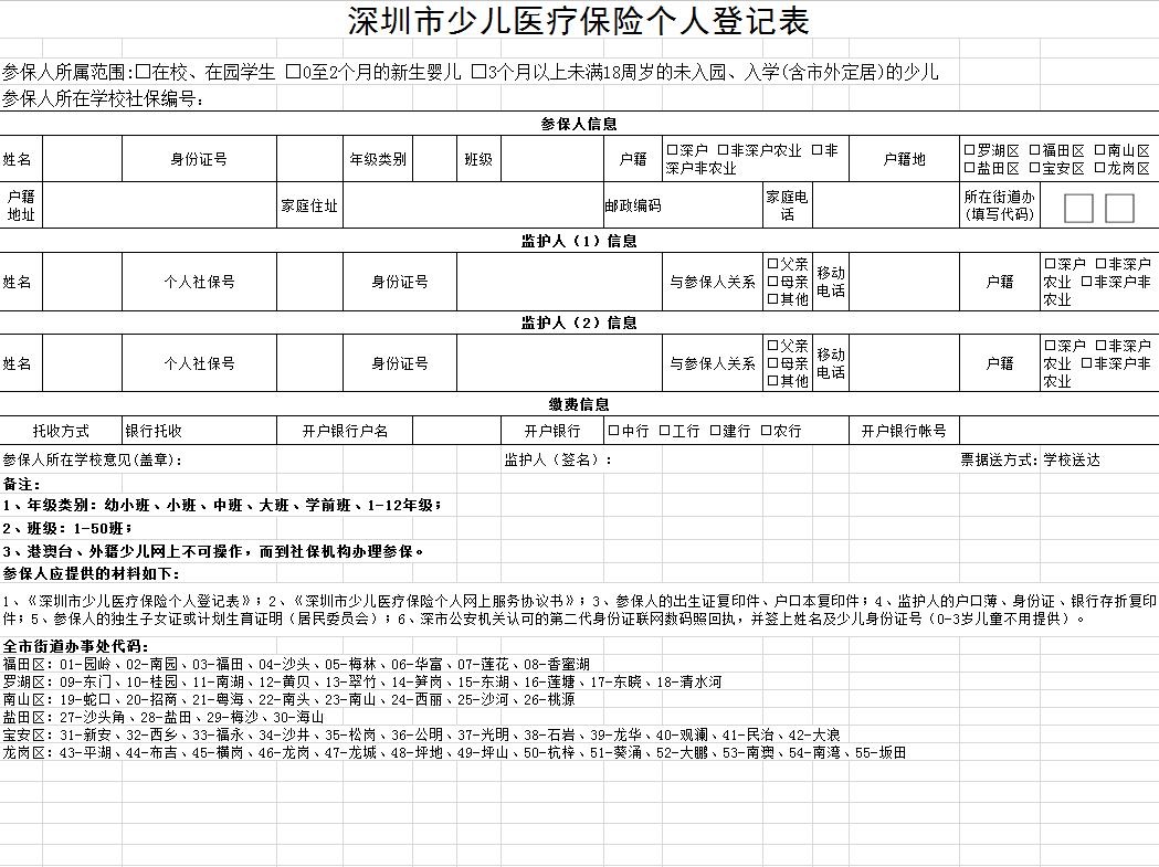 深圳社保2019年7月起最新缴费标准!! 单位