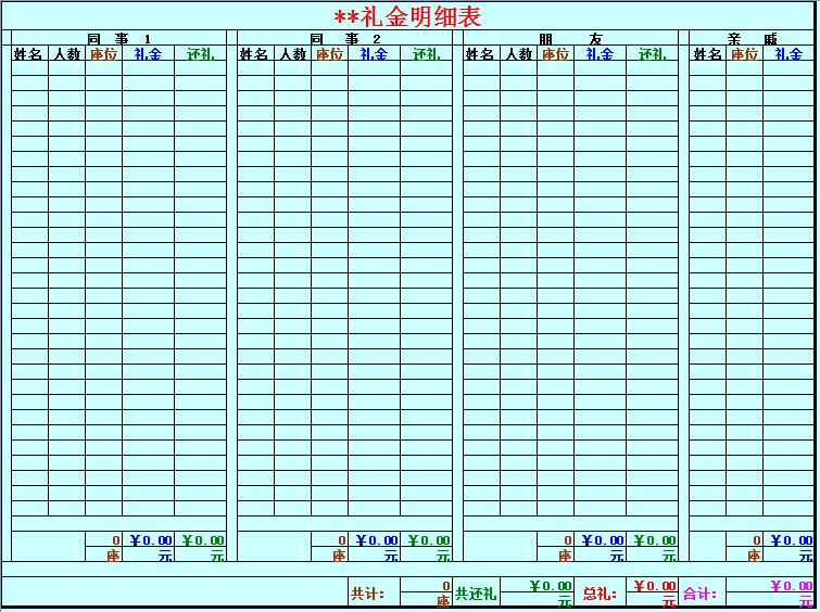excel库存表格模板_支持格式:excel