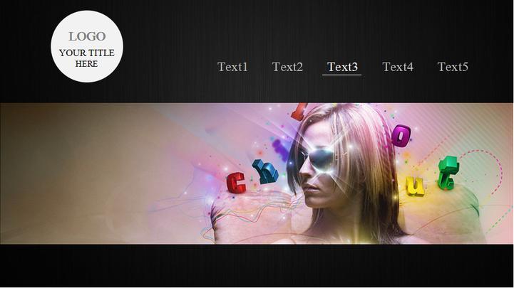 超酷动态图片切换效果ppt模板模板免费下载