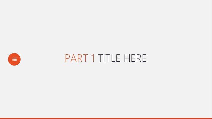 简洁实用商务ppt模板模板免费下载