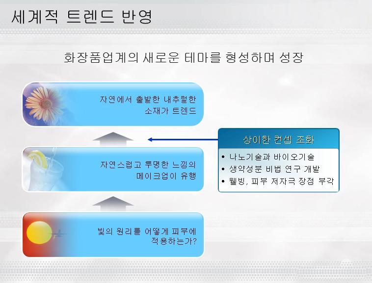 精品韩国流程图ppt模板模板免费下载