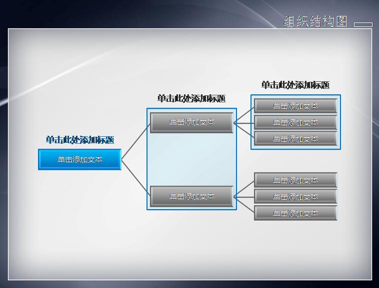 组织结构1模板免费下载