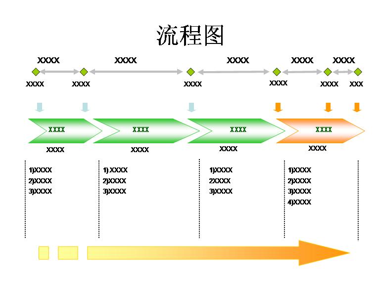 流程图模板免费下载_26407