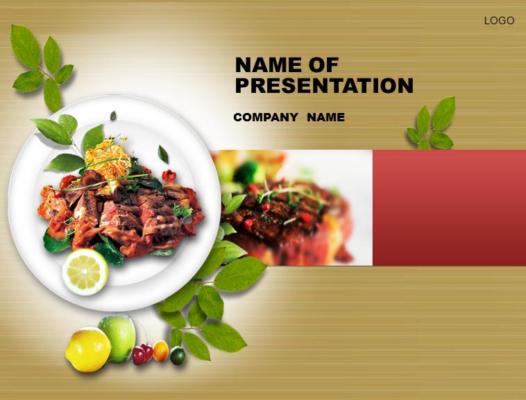 烤肉美食ppt模板模板免费下载_44201- wps在线模板图片