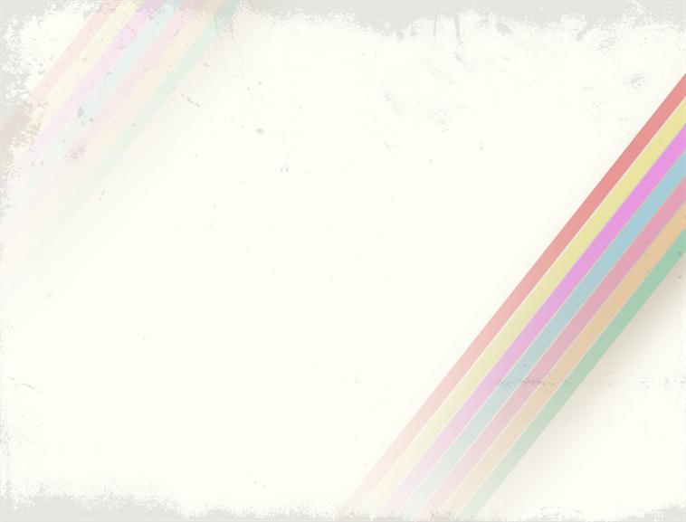 彩虹色彩风格ppt模板模板免费下载