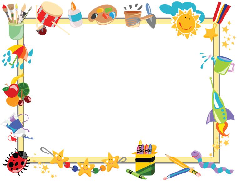 非常可爱的卡通相框ppt模板模板免费下载