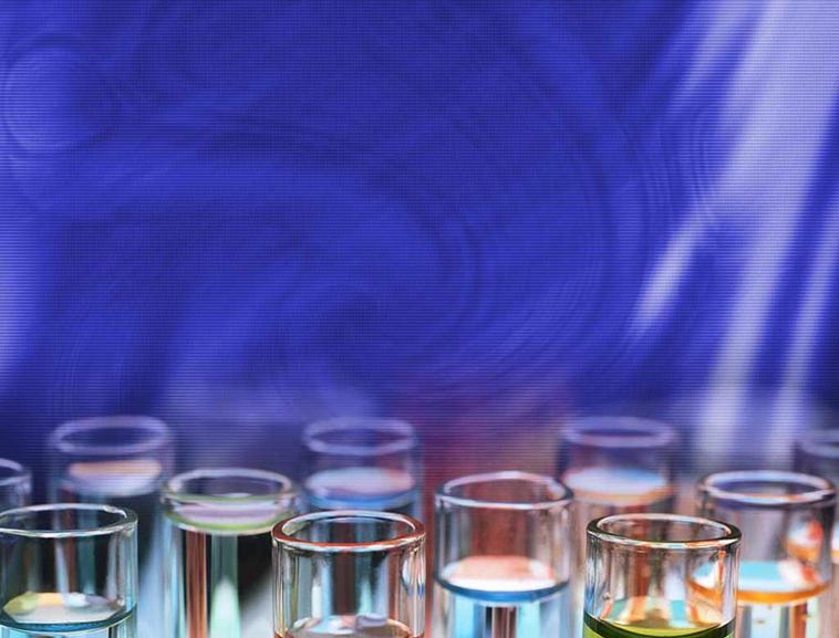 化学分析试管医学化工行业ppt模板模板免费下载