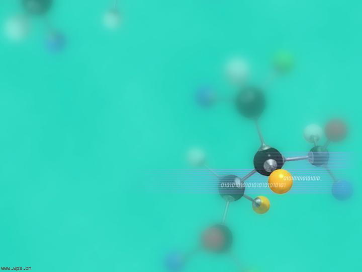 化学分子ppt模板模板免费下载