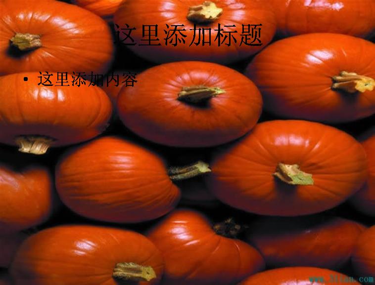 胡萝卜ppt背景