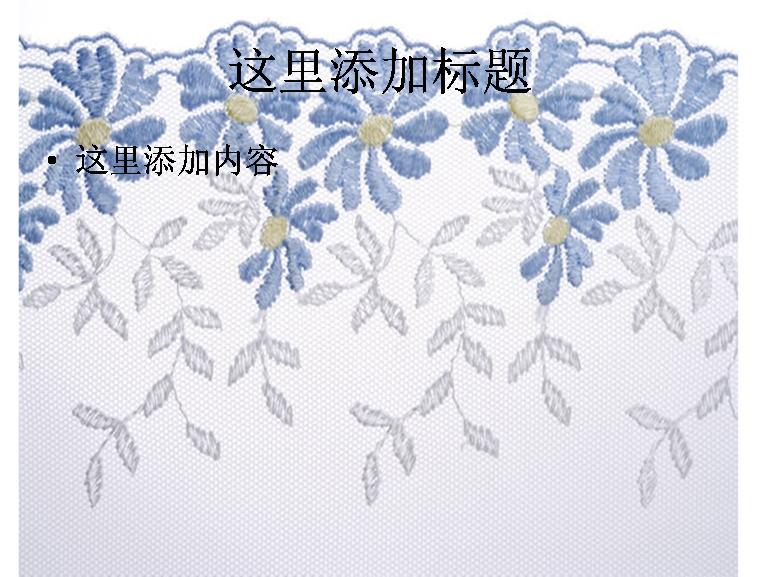 花卉刺绣图片模板免费下载