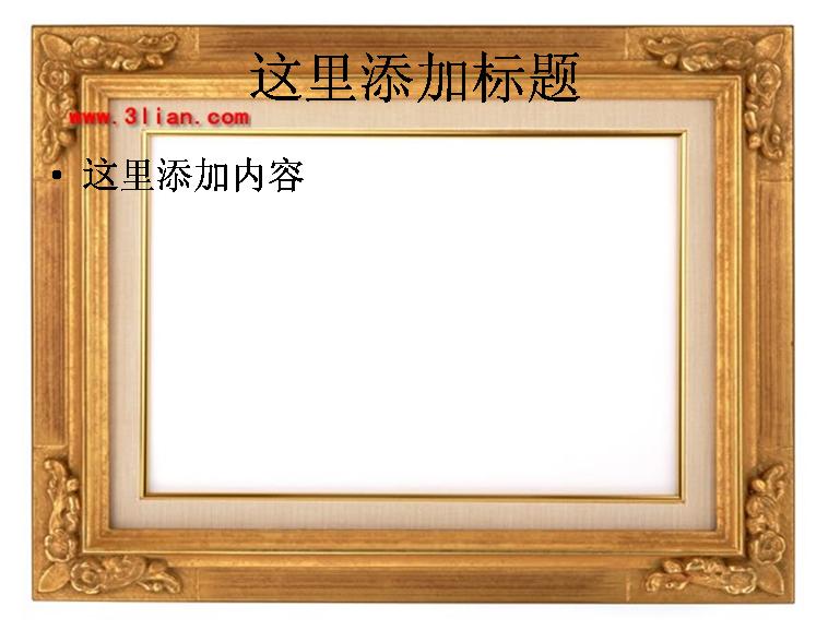 雕花相框图片模板免费下载