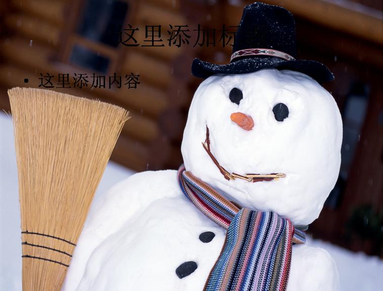 可爱的创意雪人高清(7)