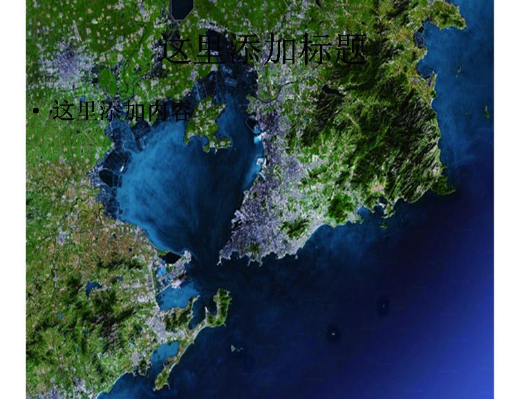 青岛地图高清图片