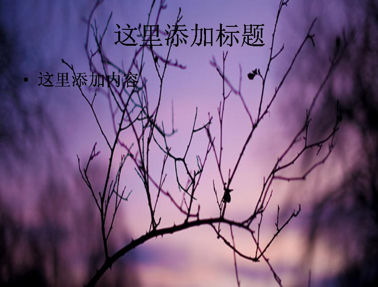 紫色风景桌面背景图片模板免费下载_110311- wps在线