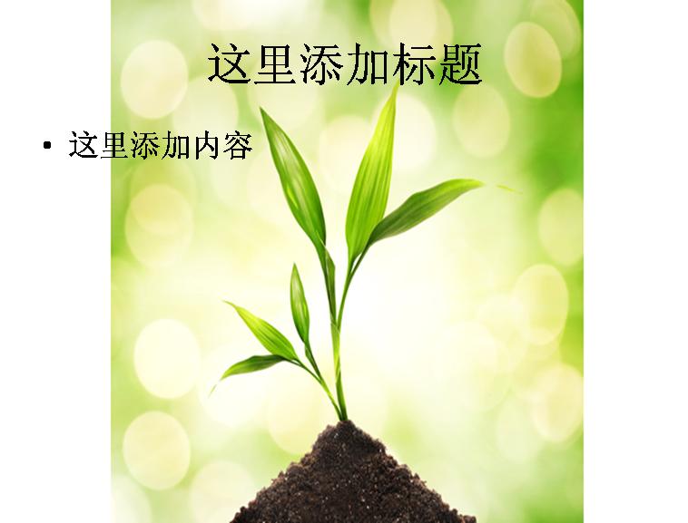 植物泥土图片ppt