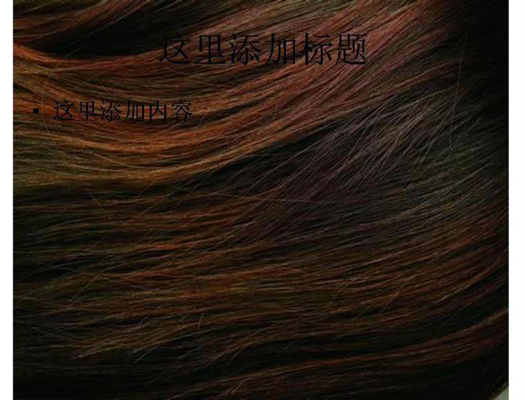 头发结构 ppt图片