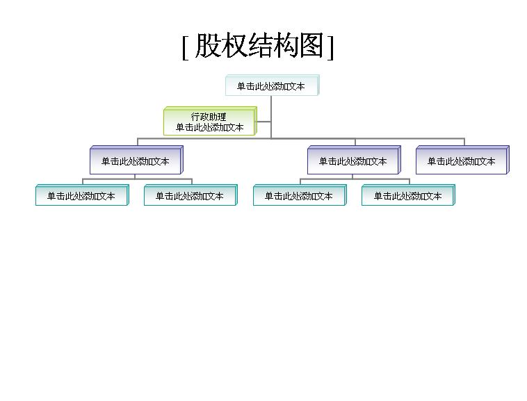 组织结构图模板免费下载